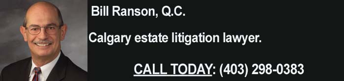 Calgary Estate Litigation Lawyer